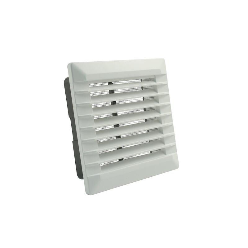 Marley Lüftungsgitter Aluminium 245 x 195 weiß 063034