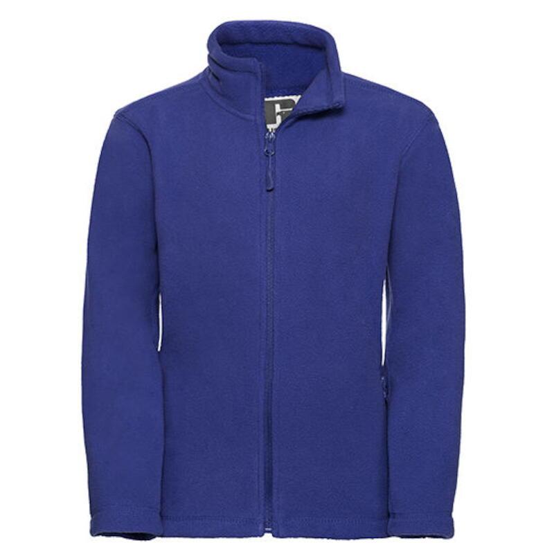 0713fbd95c Children´s Full Zip Outdoor Fleece Bright Royal - Z8700K | Udo Dömer ...